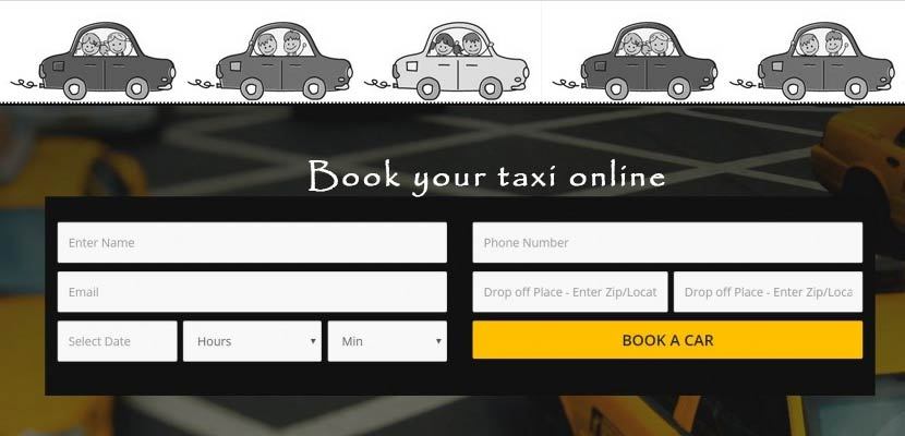 How to launch your own Cab Booking Website - ClickPoint