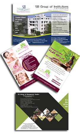 flyer design company clickpoint solution
