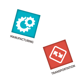 manufacturing  and transporting website development