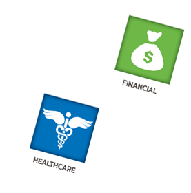 financial and health care websie development