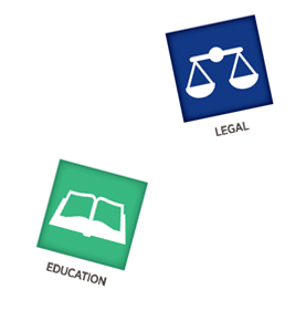 legal and education website development